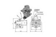 Solenoid, electromotor ERA 227860