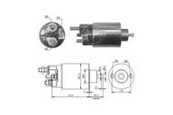 Solenoid, electromotor ERA 227888