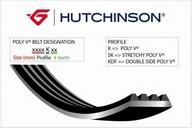 Curea transmisie cu caneluri HUTCHINSON 763 K 3