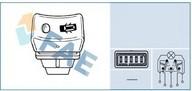 Comutator, sistem inchidere FAE 61250
