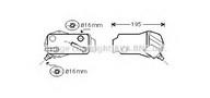 Radiator racire ulei, cutie de viteze automata AVA QUALITY COOLING BW3351