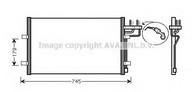 Condensator, climatizare AVA QUALITY COOLING FDA5367