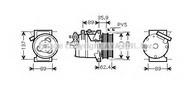 Compresor, climatizare AVA QUALITY COOLING FDK433