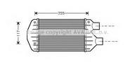 Intercooler, compresor AVA QUALITY COOLING FT4267