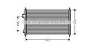 Condensator, climatizare AVA QUALITY COOLING HD5165