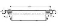 Intercooler, compresor AVA QUALITY COOLING MS4296