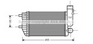 Intercooler, compresor AVA QUALITY COOLING PE4183