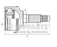 Set articulatie, planetara NIPPARTS J2820500