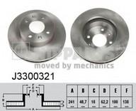 Disc frana NIPPARTS J3300321