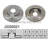 Disc frana NIPPARTS J3300521