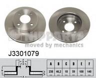 Disc frana NIPPARTS J3301079