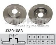 Disc frana NIPPARTS J3301083