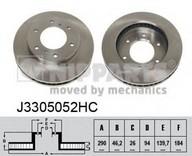 Disc frana NIPPARTS J3305052HC