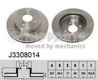 Disc frana NIPPARTS J3308014