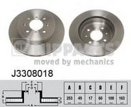 Disc frana NIPPARTS J3308018
