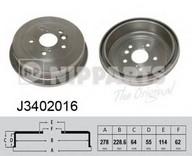 Tambur frana NIPPARTS J3402016