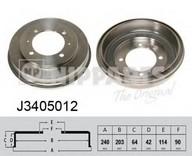 Tambur frana NIPPARTS J3405012