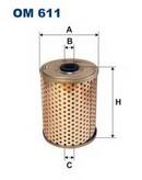 Filtru hidraulic, sistem directie FILTRON OM611
