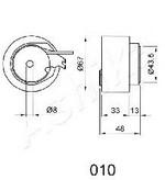 Mecanism tensionare, curea distributie ASHIKA 45-00-010