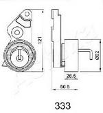 Mecanism tensionare, curea distributie ASHIKA 45-03-333
