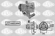 Pompa hidraulica, sistem de directie SASIC 7076008