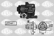 Pompa hidraulica, sistem de directie SASIC 7076010