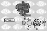 Pompa hidraulica, sistem de directie SASIC 7076023