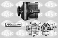 Pompa hidraulica, sistem de directie SASIC 7076029