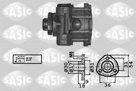 Pompa hidraulica, sistem de directie SASIC 7076031