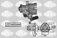 Pompa hidraulica, sistem de directie SASIC 7076039