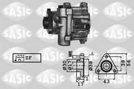 Pompa hidraulica, sistem de directie SASIC 7076001