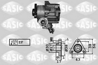 Pompa hidraulica, sistem de directie SASIC 7076002