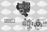 Pompa hidraulica, sistem de directie SASIC 7076004