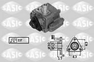 Pompa hidraulica, sistem de directie SASIC 7076065