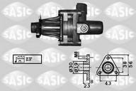Pompa hidraulica, sistem de directie SASIC 7076043