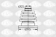 Ansamblu burduf, articulatie planetara SASIC 4003444