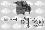 Pompa hidraulica, sistem de directie SASIC 7070033