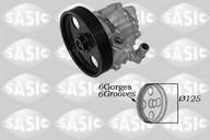 Pompa hidraulica, sistem de directie SASIC 7070049