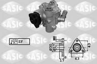 Pompa hidraulica, sistem de directie SASIC 7076067