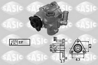 Pompa hidraulica, sistem de directie SASIC 7076072