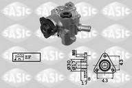 Pompa hidraulica, sistem de directie SASIC 7076078