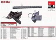 kit lant de distributie FAI AutoParts TCK166