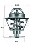 Termostat, lichid racire MAHLE ORIGINAL TX 81 89D