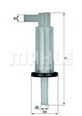 Filtru combustibil MAHLE ORIGINAL KL 33 OF