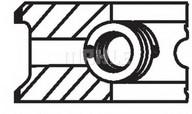 Set segmenti piston MAHLE ORIGINAL 448 15 N0