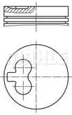Piston MAHLE ORIGINAL 040 01 00