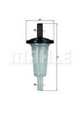Filtru combustibil MAHLE ORIGINAL KL 23 OF