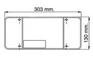Dispersor, lampa spate EUROLITES LEART 37.082.028