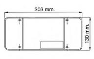 Dispersor, lampa spate EUROLITES LEART 37.083.034