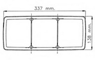 Dispersor, lampa spate EUROLITES LEART 37.420.026